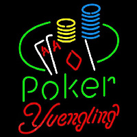 Yuengling Poker Ace Coin Table Beer Sign Neon Sign