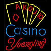 Yuengling Poker Casino Ace Series Beer Sign Neon Sign