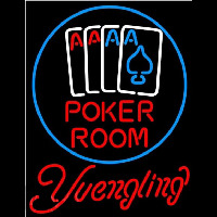 Yuengling Poker Room Beer Sign Neon Sign