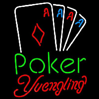 Yuengling Poker Tournament Beer Sign Neon Sign