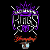 Yuengling Sacramento Kings NBA Beer Sign Neon Sign