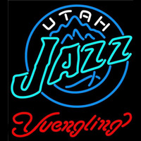 Yuengling Utah Jazz NBA Beer Sign Neon Sign
